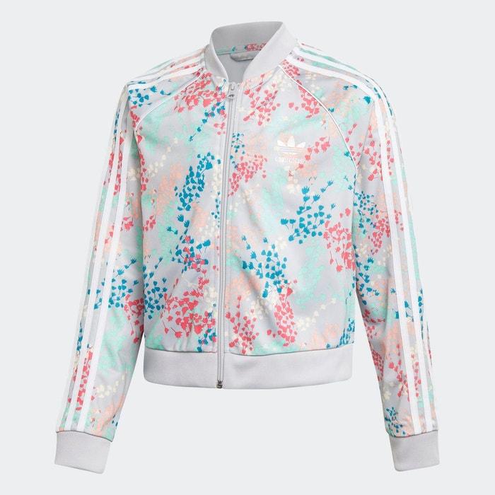 Veste de survêtement cropped sst multicolore Adidas