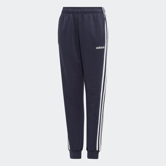 Pantalon essentials 3 stripes bleu Adidas Performance | La