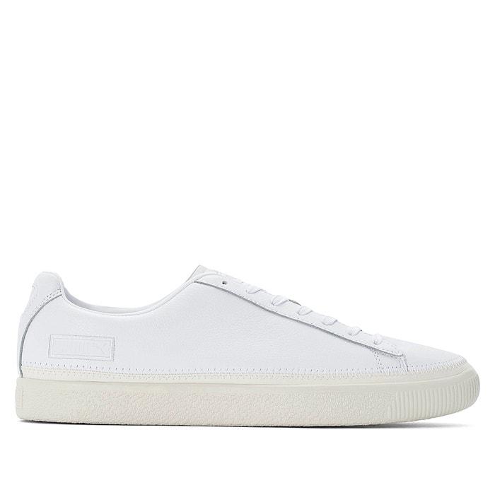 Baskets cuir stitched blanc PUMA