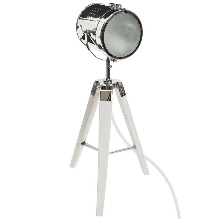 Lampe Industrielle Métal Et Bois Ebor H68