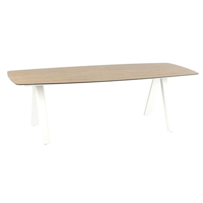 Table de jardin barcelone - 8 personnes blanc Hesperide | La ...