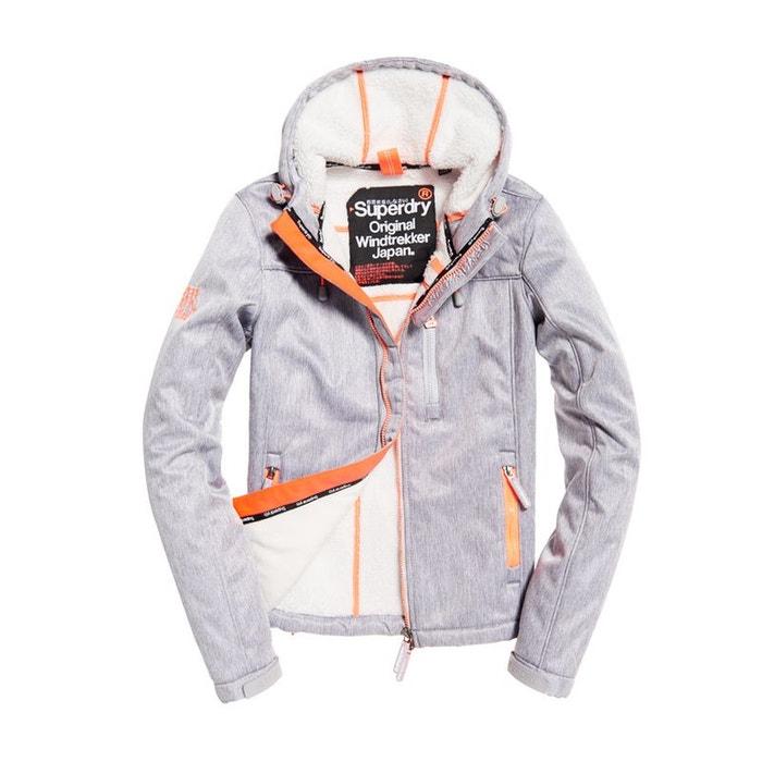 Veste à capuche sherpa sd windtrekker Superdry | La Redoute