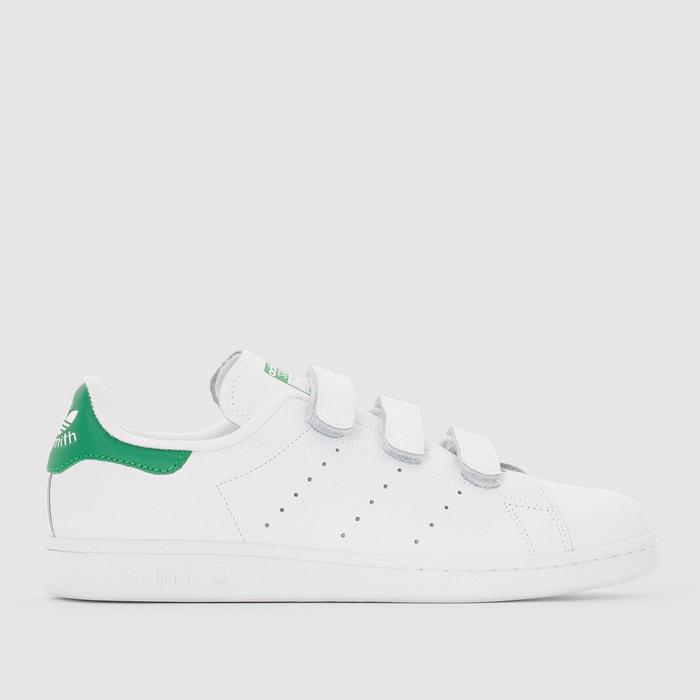 official photos 2133b e1c54 Sneakers stan smith cf mit klettverschluss weiss/grün Adidas ...