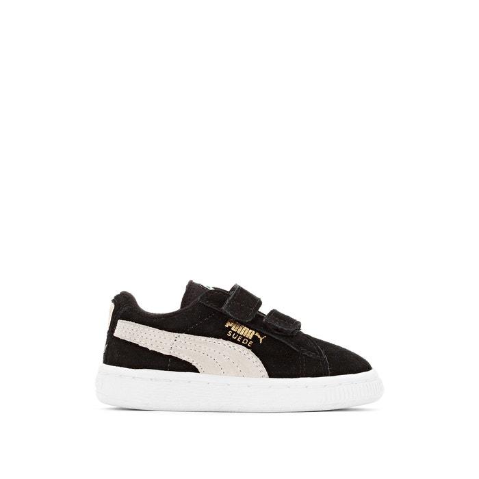 Sneaker suede mit klettverschluss schwarz Puma | La Redoute