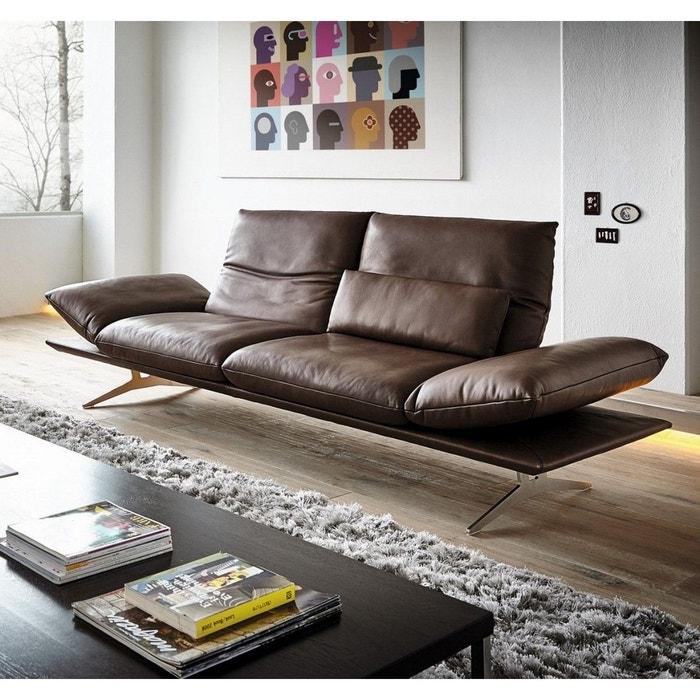 Chocolat Ad Seanroyale Canapé Marron En Cuir Confortable Senso Ultra 8OPNX0wZnk