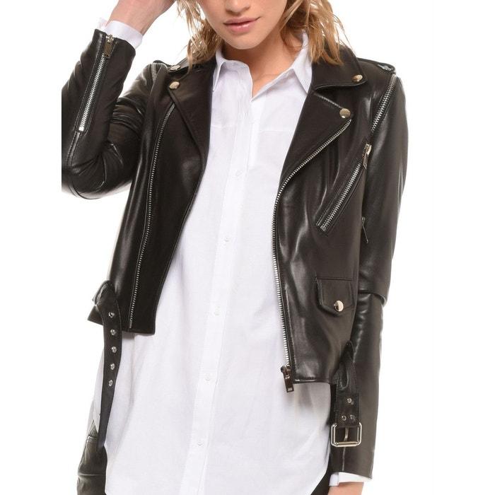 veste perfecto noir zippé