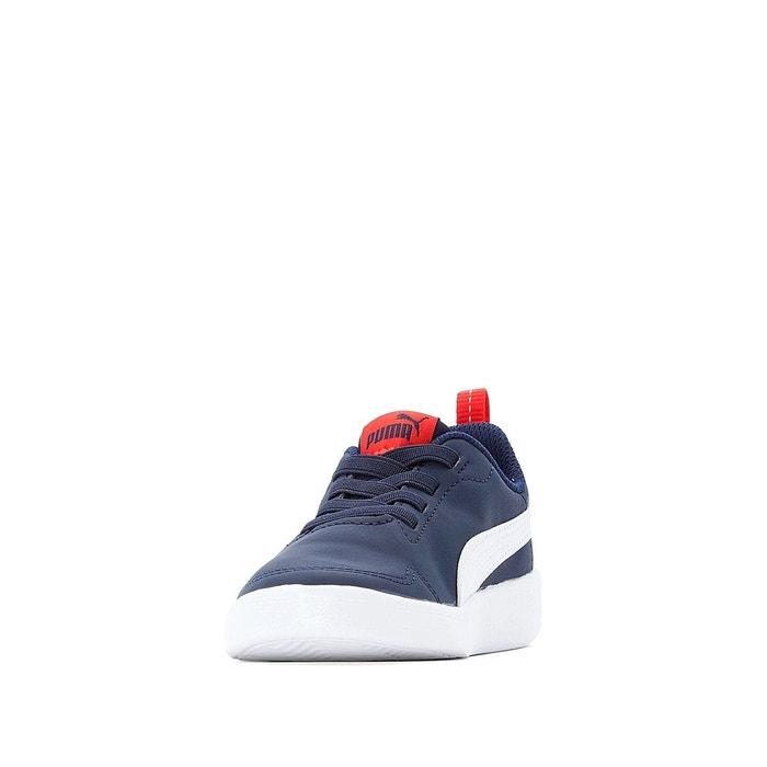 Baskets courtflex ps marine rouge Puma | La Redoute