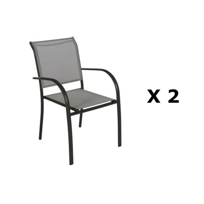 2 Chaises de jardin Piazza - H. 88 cm