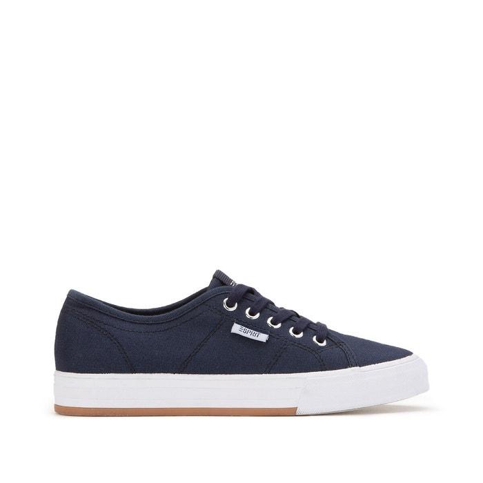 trainers navy blue Esprit | La Redoute