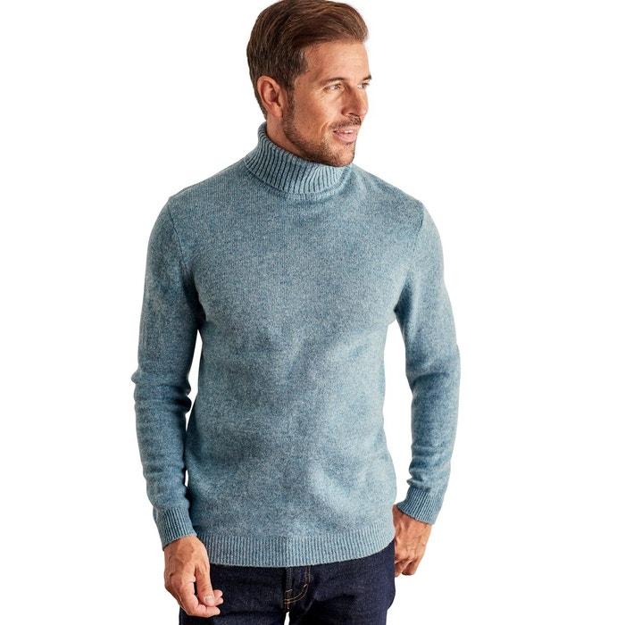 Pull à col roulé en pure laine Woolovers | La Redoute