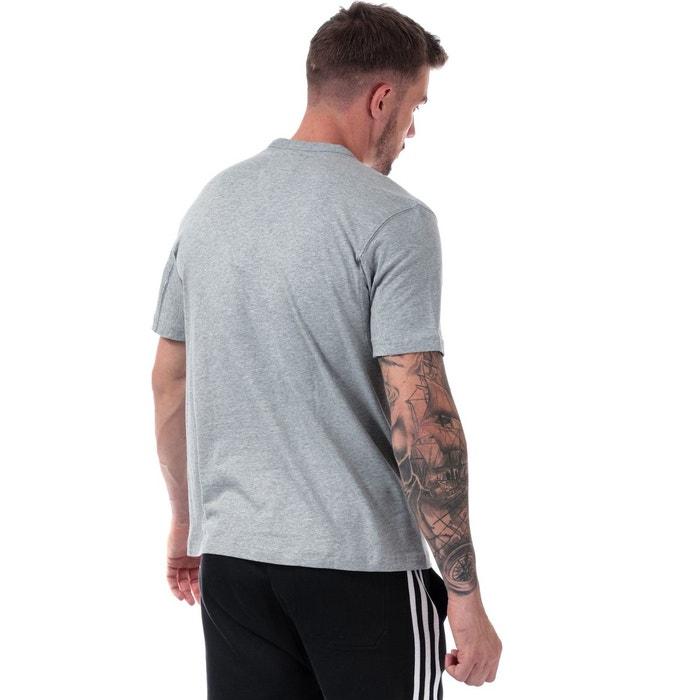 T shirt kaval gris Adidas Originals | La Redoute