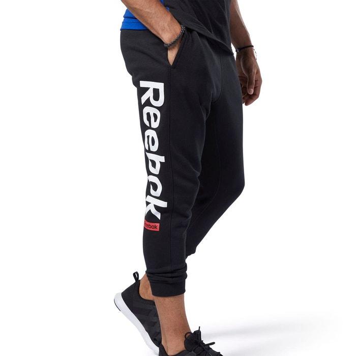 Pantalon de sport avec logo training essentials noir Reebok