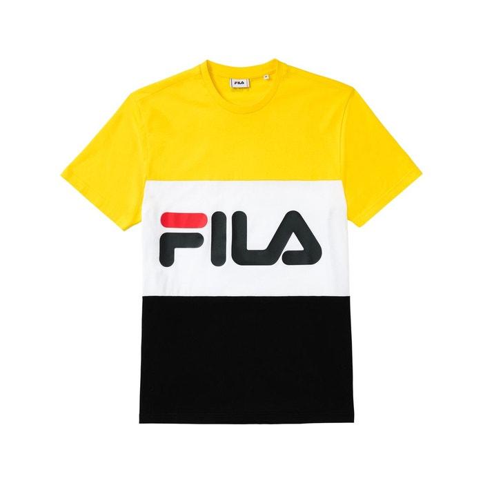 Tee shirt fila jaune homme | La Redoute