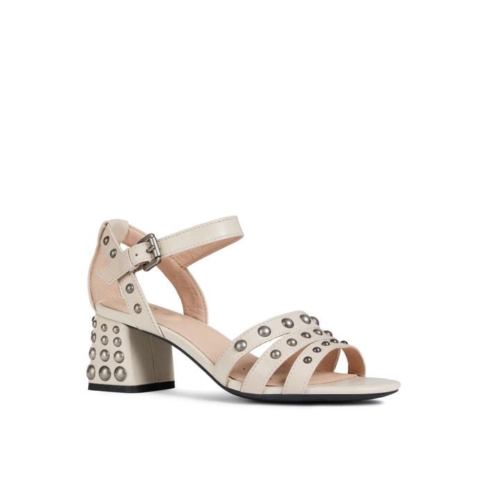 Sandali con tacchi traspiranti in pelle Seyla