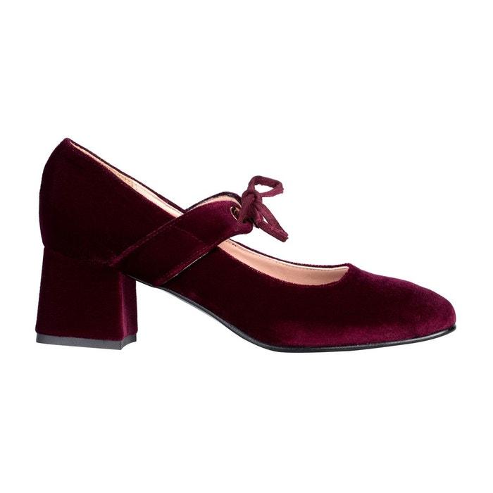 Escarpins italiens Babies Femme Talon carré GIULIA chaussures petites pointures