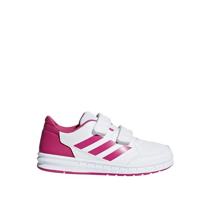 Baskets scratch altasport blanc rose Adidas Performance | La