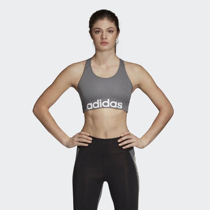 Brassière de sport noirblanc Adidas Performance | La Redoute