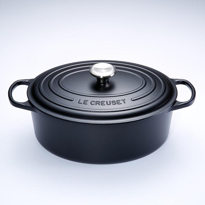 Signature Oval Casserole Dish 40cm Black Le Creuset La Redoute
