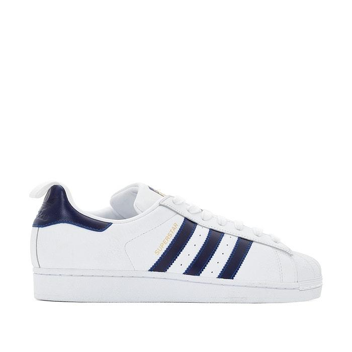 Sneakers superstar witblauw Adidas Originals | La Redoute