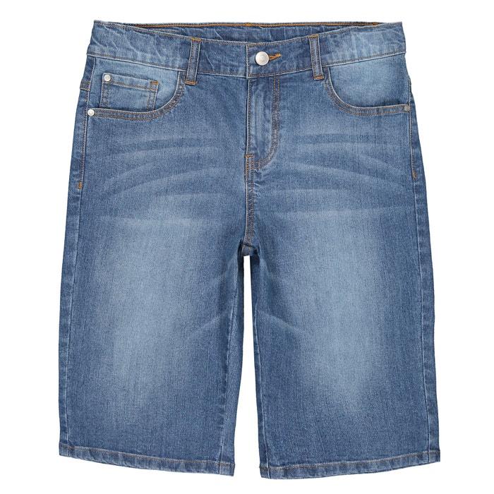 YULEgowinner Boys Denim Stretch Cute Jean Crimping Girls Shorts