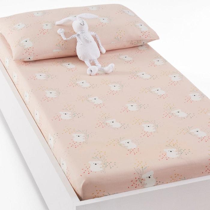 Drap-housse pour lit bébé coton, louisa imprimé
