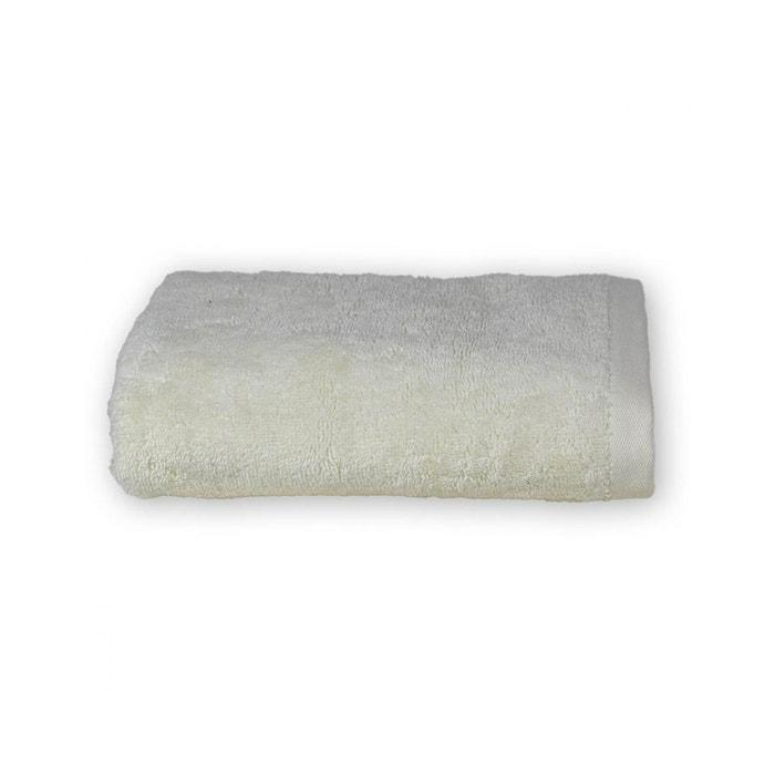 Certifi/é Oeko-Tex/® SENSEI MAISON Linge Doux et Absorbant 1 Grand Drap de Bain 1 Serviette de Toilette 1 Gant de Toilette Pack Eponge Supr/ême 3 Pi/èces Couleur Ficelle 100/% Coton