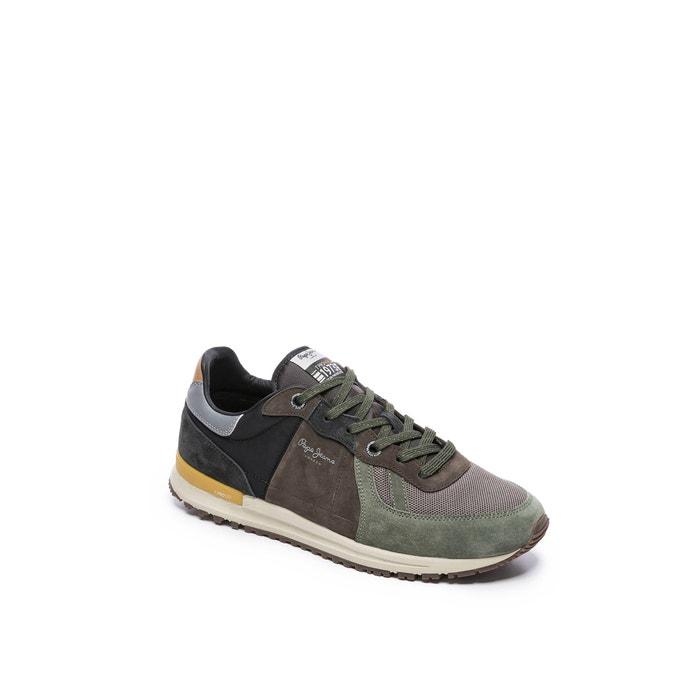 Sneakers tinker pro 19 woodland kaki Pepe Jeans | La Redoute