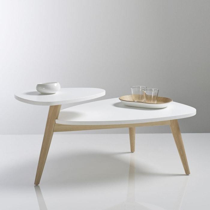 Table basse vintage double plateau, Jimi La Redoute