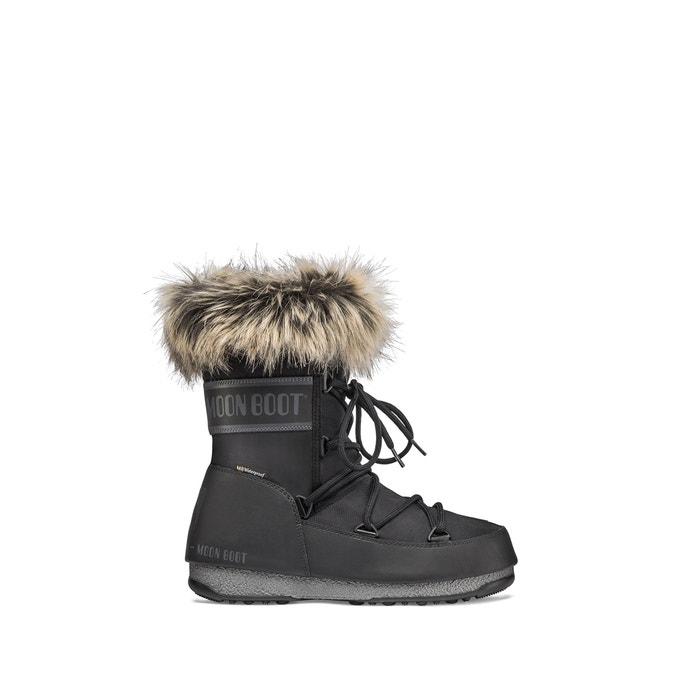 Monaco low wp boots with faux fur