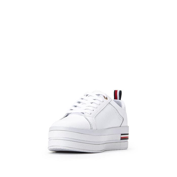 Baskets modern flatform sneaker bianco Tommy Hilfiger | La