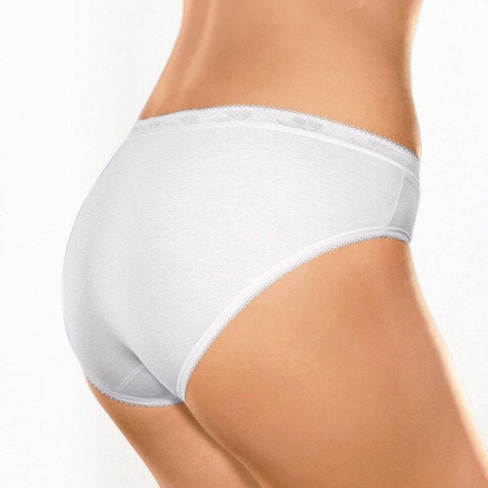 SLOGGI Set 8 Slip Basic Mini Donna Bianco
