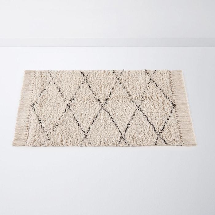 Tapis De Bain Style Berbere Fatouh Ecru La Redoute Interieurs La Redoute