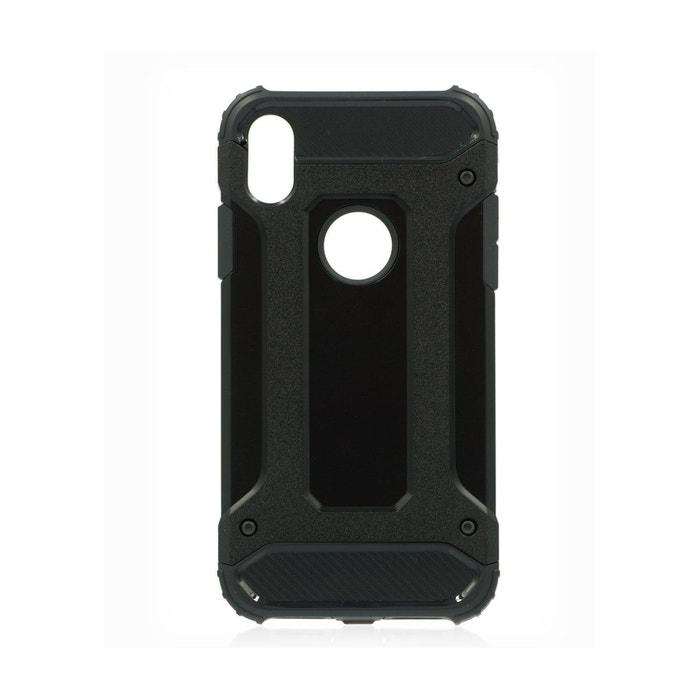 coque iphone xr noire mat