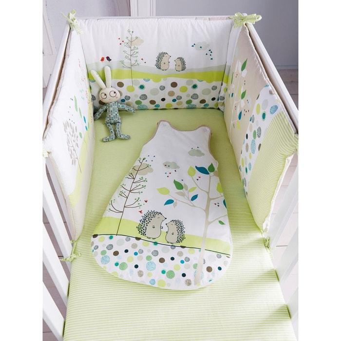 Tour de lit bébé brodé PIC-NIC