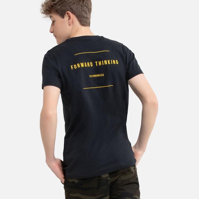 Boys Long Sleeved Round Neck Slogan T-Shirt