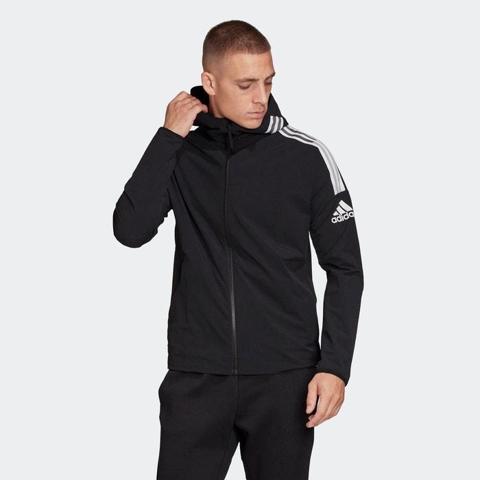 Veste à capuche adidas z.n.e. woven. noir