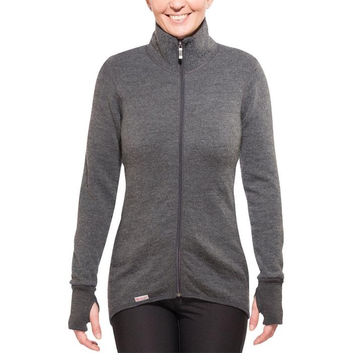 400 veste gris gris Woolpower | La Redoute