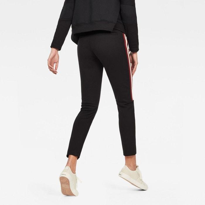 Jogpant skinny taille moyenne dk black G Star Raw | La Redoute