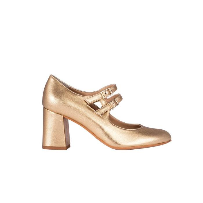métallisé babies femme chaussures cuir assia Escarpins nPk08wO