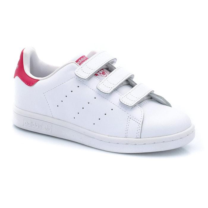 Sneakers met klittenbandpatjes stan smith cf c witroze