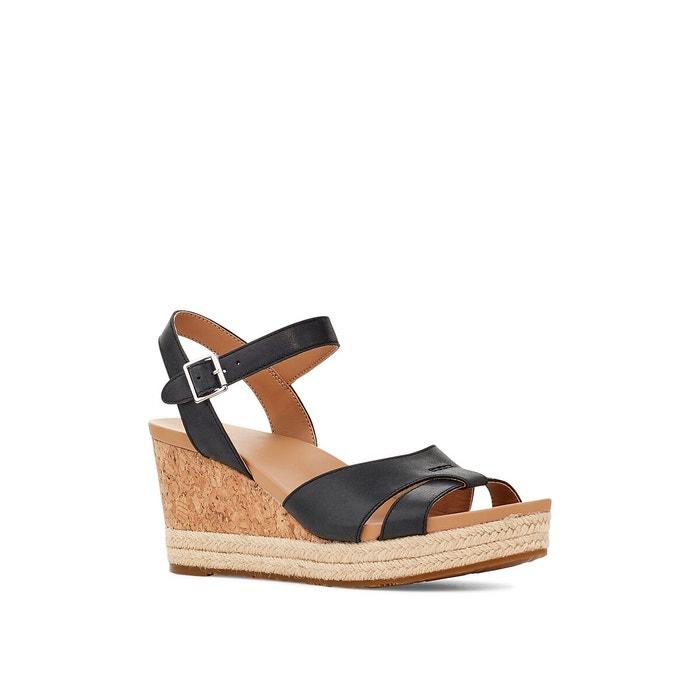 Sandales compensées en cuir cloverdale Ugg | La Redoute