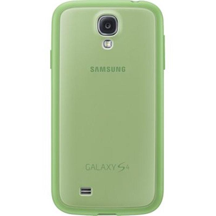 Coque Samsung verte EF-PI950BV pour Galaxy S4 I9500