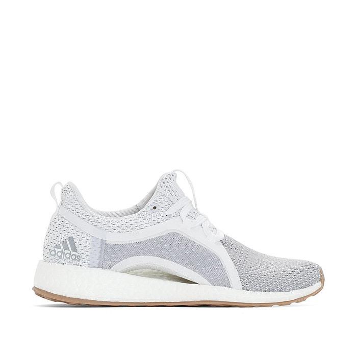 Adidas Baskets running pureboost x clima Blanc | Adidas Boost|Adidas PureBoost Femme Blanc