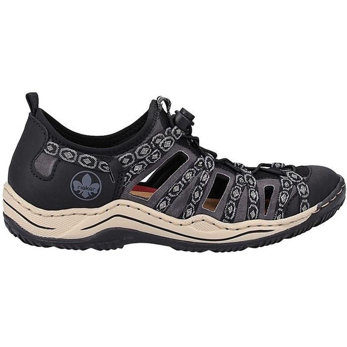 Chaussures de randonnées textile noir Rieker | La Redoute