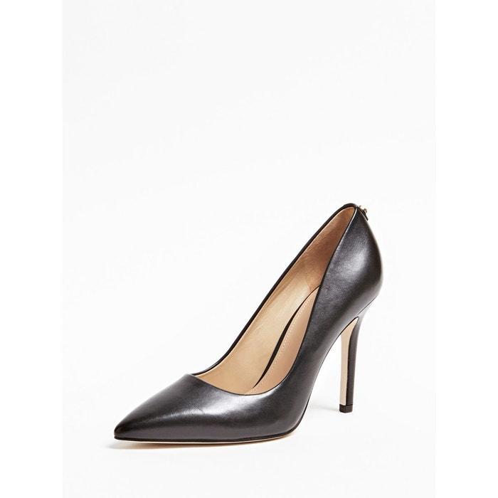 Guess ESCARPINS BLIX EN CUIR Femme Noir Chaussures,guess