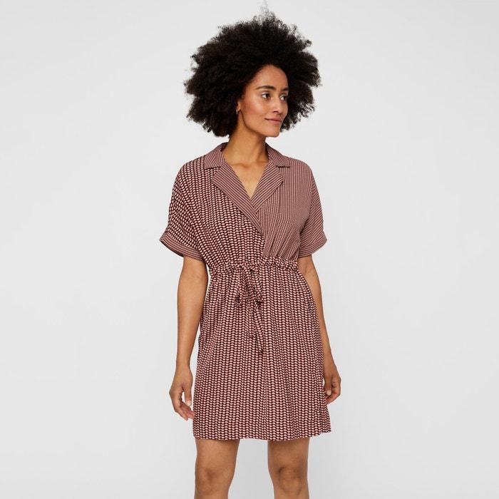 diseño superior último clasificado los mejores precios Vestido con faldones cruzados superpuestos Vero Moda | La ...