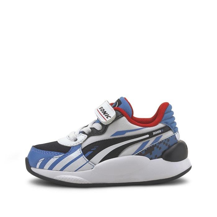 Kids sega rs 9.8 sonic ac trainers white/blue Puma | La Redoute