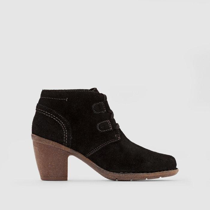 Boots cuir carleta lyon noir Clarks   La Redoute
