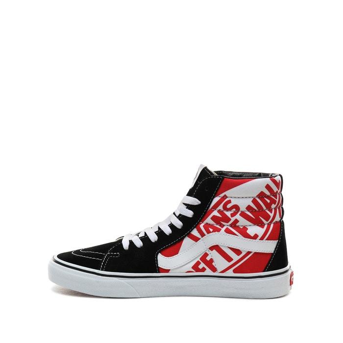Sneakers sk8 hi zwartwitrood Vans   La Redoute