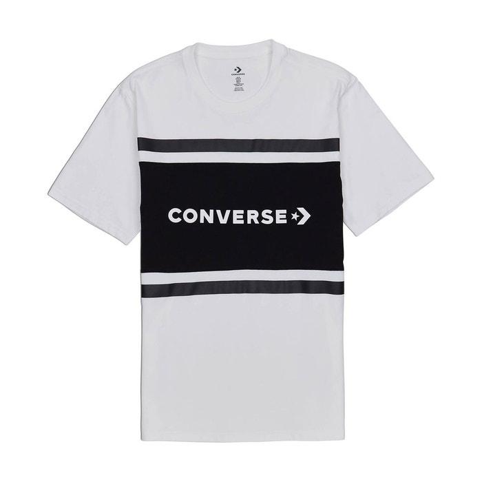 t shirt converse blanc